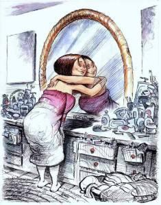 Faça as pazes com o seu espelho