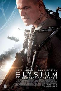 No filme Elysium, repleto de metáforas transhumanistas, o personagem de Matt Damon usa um exoesqueleto para se tornar quase que invencível.
