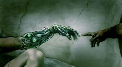 E eis que o ser humano criou o transhumano, tornando-se, assim, um novo deus.